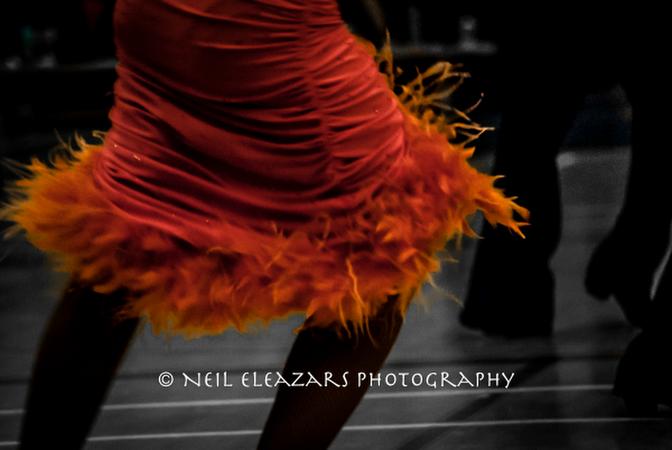 rubies dance centre orange skirt