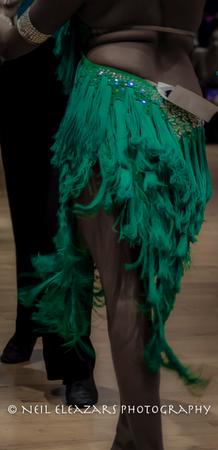 rubies dance centre green costume