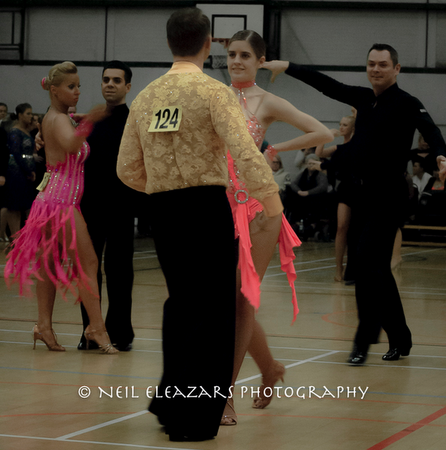 rubies dance centre couples in competition