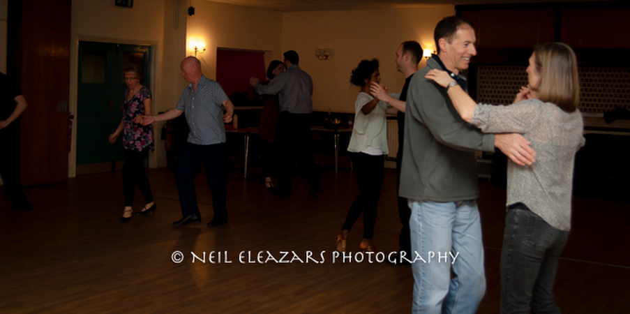 couples dancing in a competition