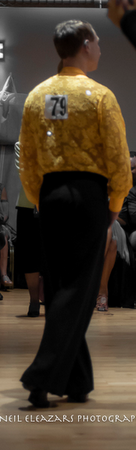 rubies dance centre dancer with black and yellow costume