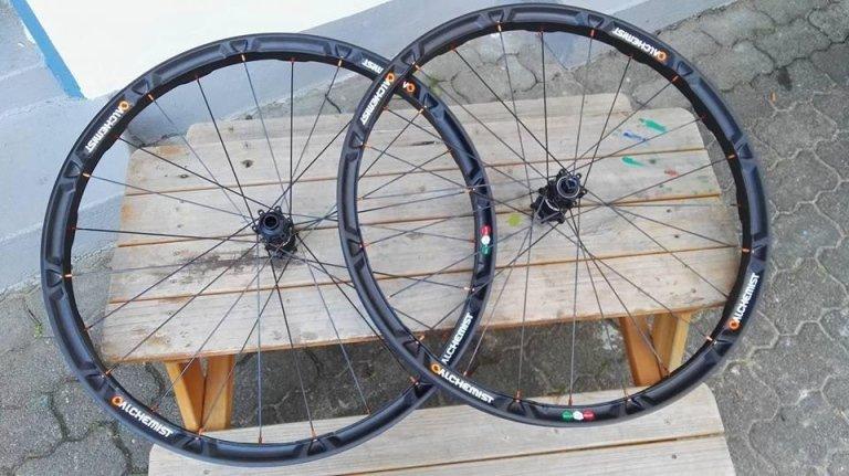 ruote di bicicletta