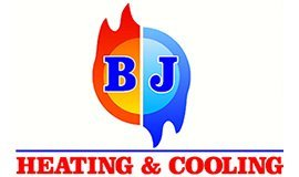 bj heating and cooling logo