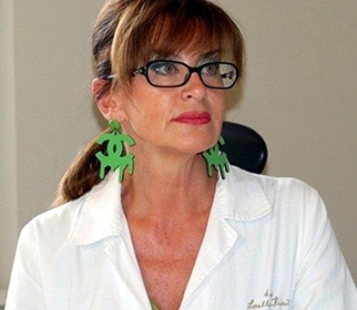 primo piano della dottoressa Lorella Fioriti