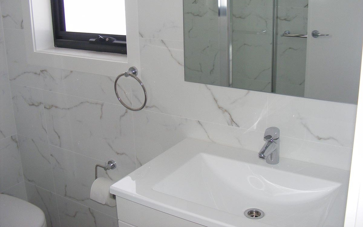 bathroom sink Barry Richards Ceramic Tiling