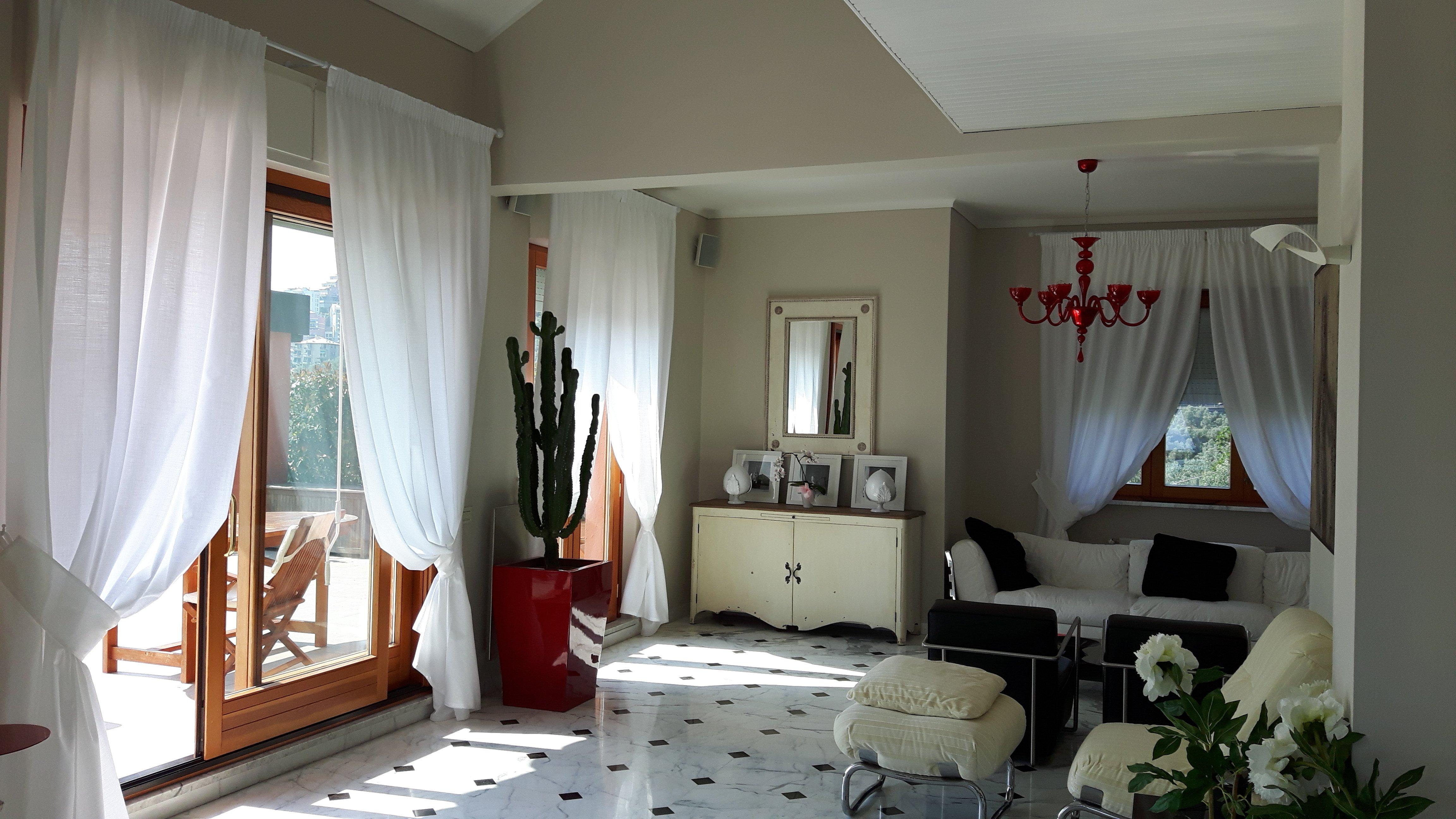 casa tende interni rivestimento