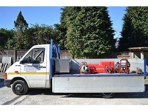 servizio mobile con attrezzature per la termografia video ispezione e pulizia impianti