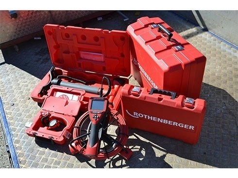 attrezzatura per videoispezione e termografia impianti