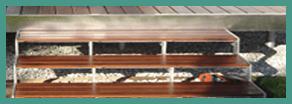scale in legno per esterno