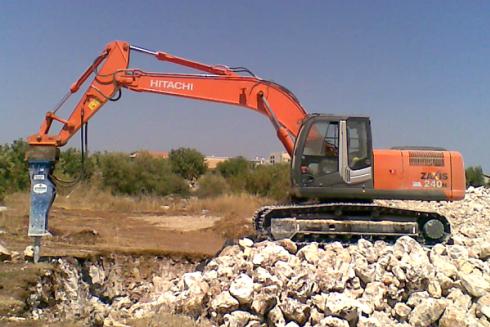 macchine per scavi e demolizioni