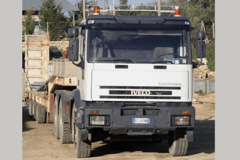 camion con pianale