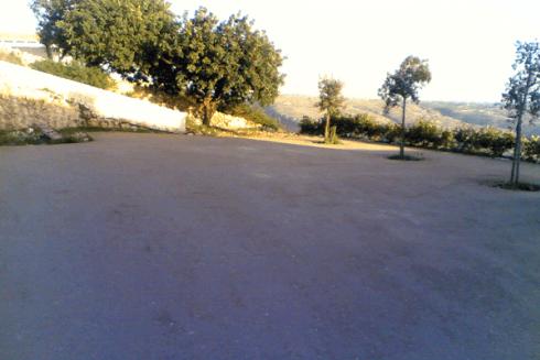 pavimentazione con misto cementato