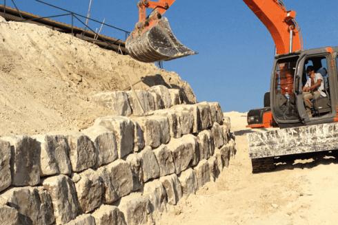 muraglia in pietra