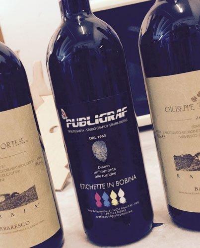 stampe etichette vini PUBLIGRAF