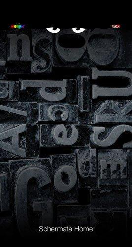 stampaggio lettere