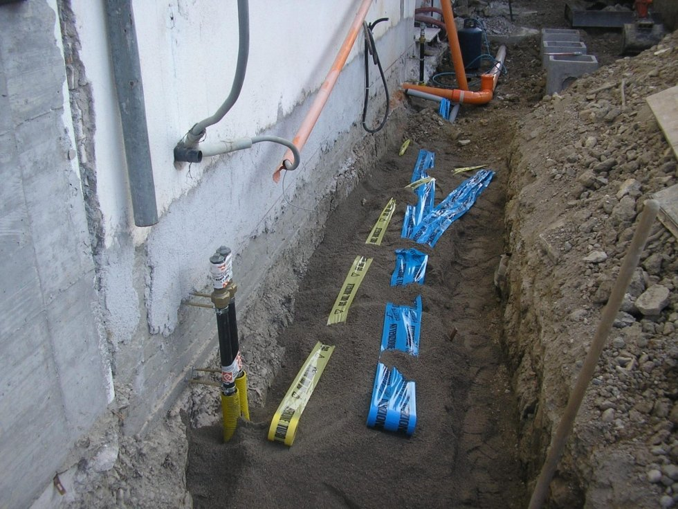 scavi e fognature