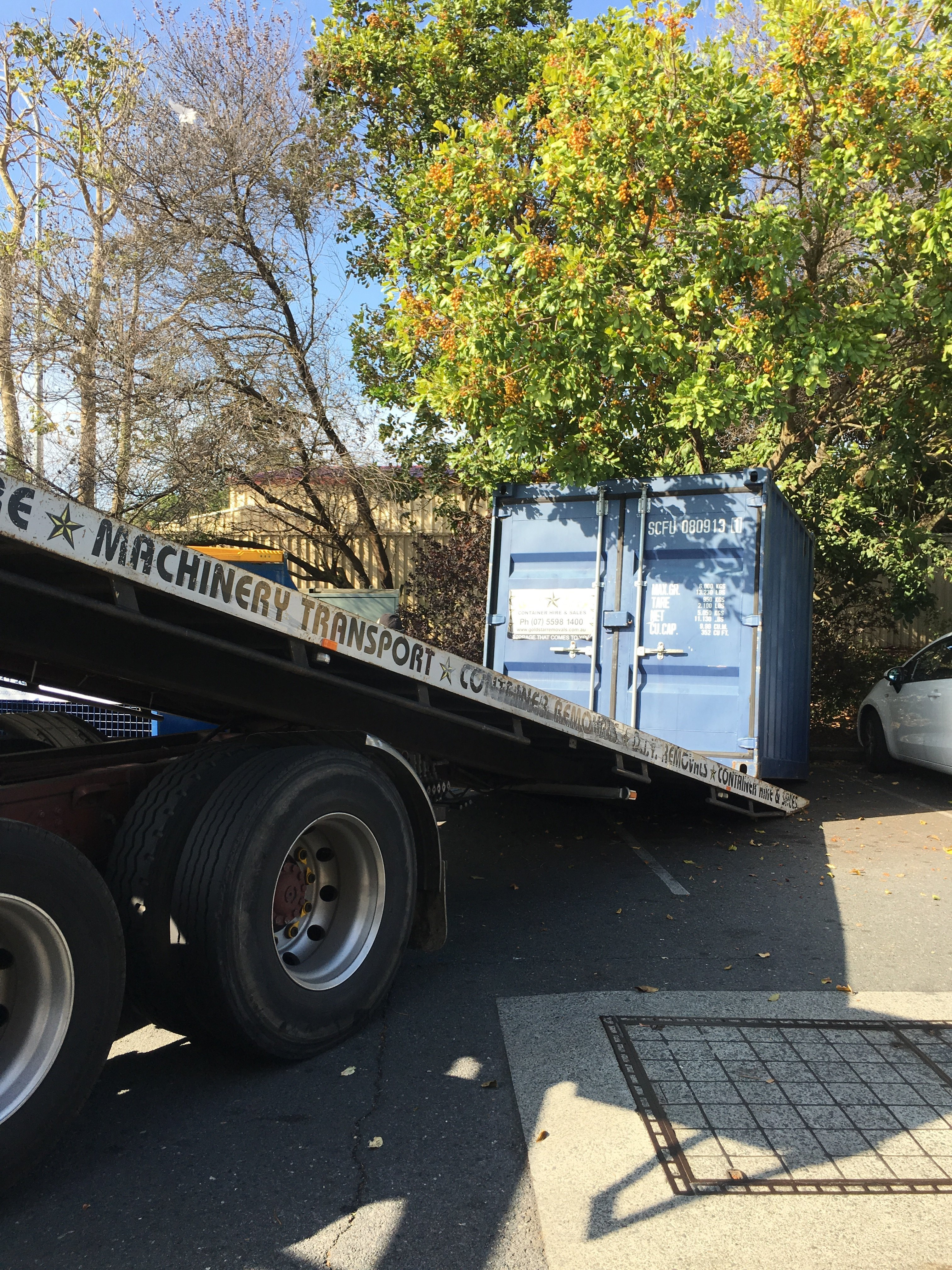 Machinery Transport Storage for Hire Gold Coast