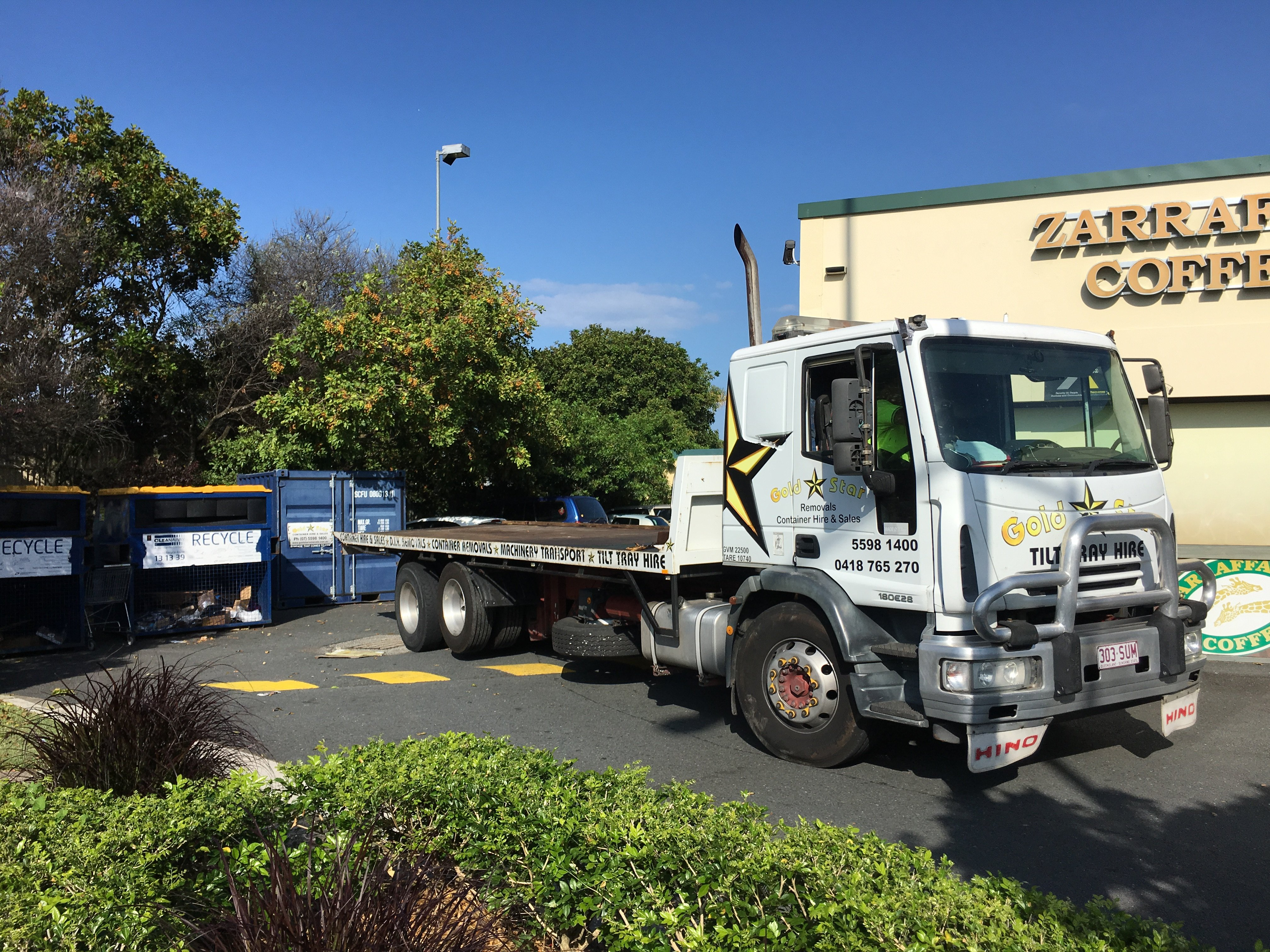 Pods Conveyor Truck For Hire Gold Coast