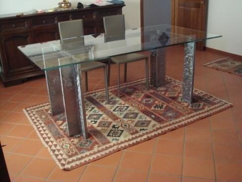 Realizzazione tavoli in vetro