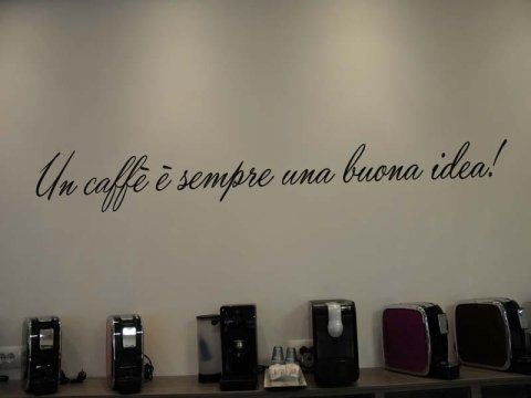 Vendita macchine da caffè per ufficio