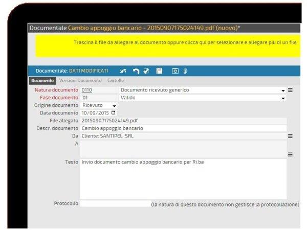 gestionale documenti azienda