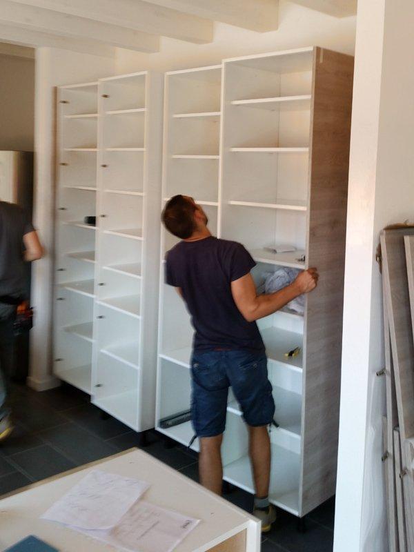 Smontaggio e rimontaggio mobili presso Traslochi Sargu a San giovanni Lupatoto (VR)