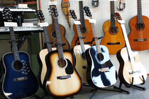 Chitarre acustiche in legno