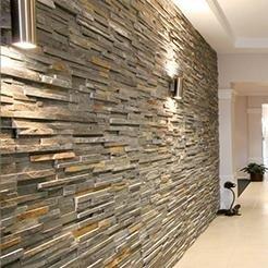 Rivestimento muro con pietra ricostruita