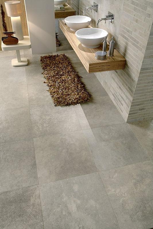 Lastroni marmo in bagno rimodernato