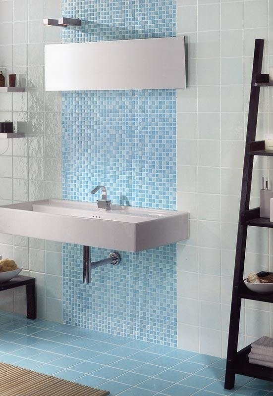 Mosaico azzurro