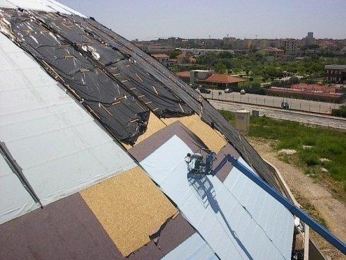 coperture tetti impermeabilizzati