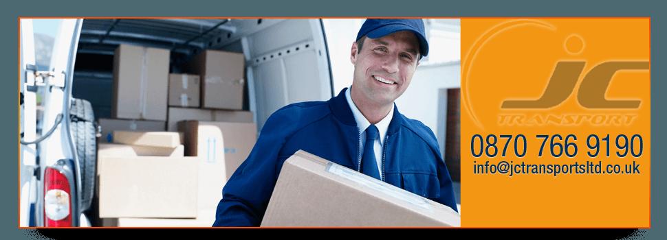 international courier - UK - JC Transport Solutions Ltd  - courier