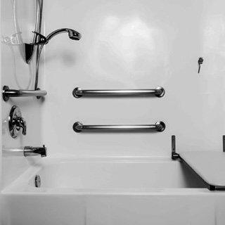 bathroom wall fitting