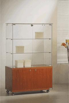 vetrine espositive in cristallo