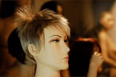 testa femminile