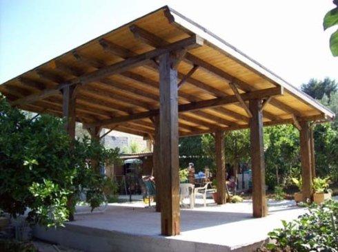 Verande in legno with foto verande in legno for Costo ampliamento in legno