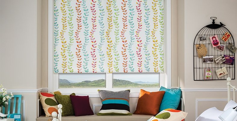 patterned blinds