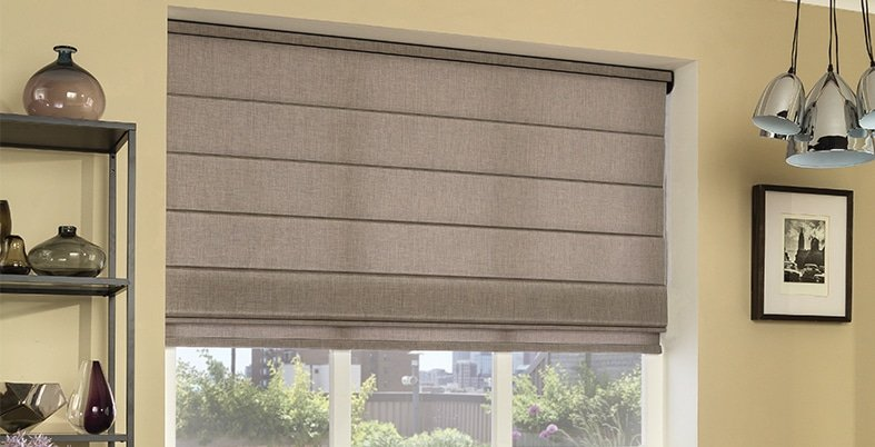 grey blinds