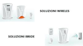 apparecchi wireless, soluzioni wireless, soluzioni ibride