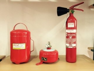 maintenance and sales of fire-prevention systems
