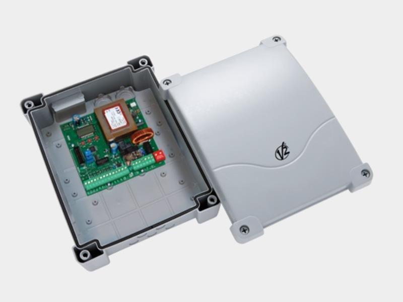 CITY4 Centrale di comando digitale 230V per cancelli a battente (singola anta) e scorrevoli