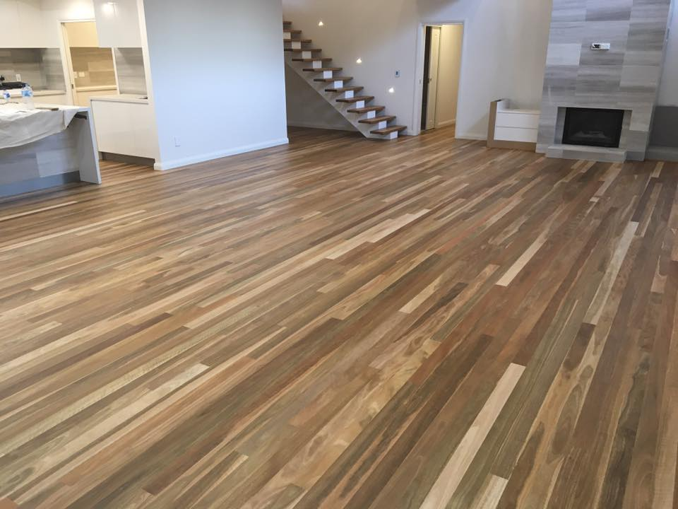 One of our timber floors in the Woy Woy area