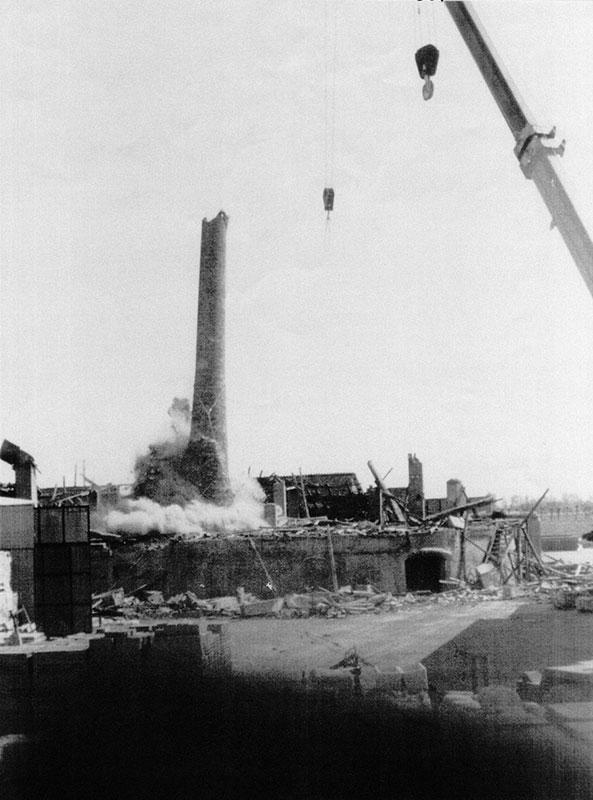 Fornace Delmenico la demolizione