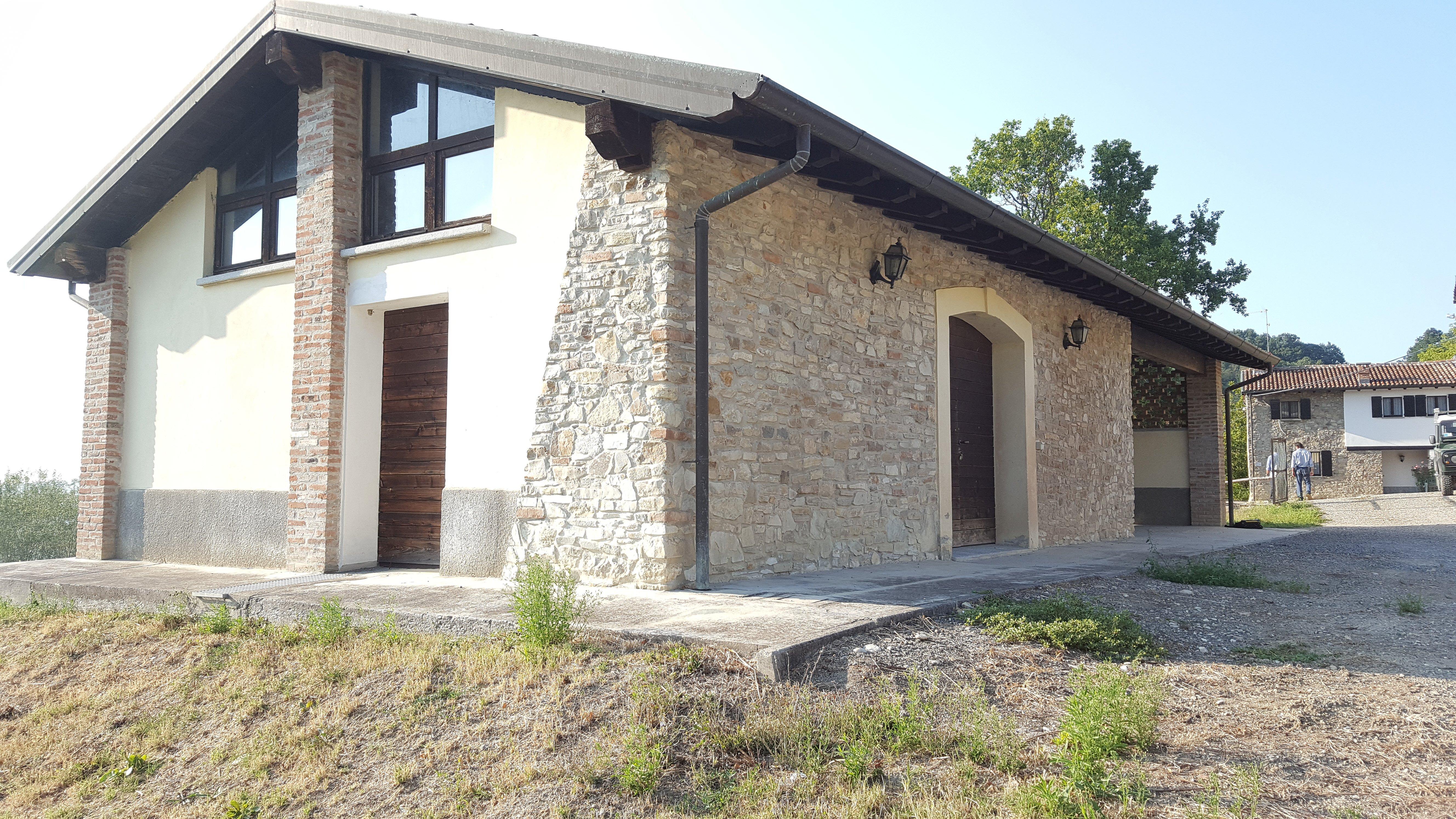 Un casolare in pietra ristrutturato