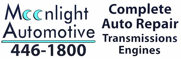 Moonlight Automotive Street Sign