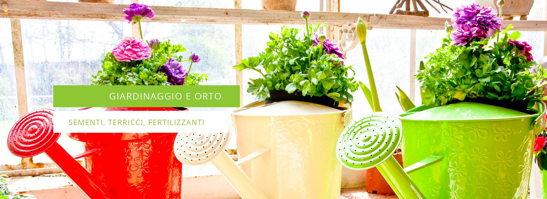Fornitura prodotti per orto e giardinaggio lonato del for Prodotti per giardinaggio