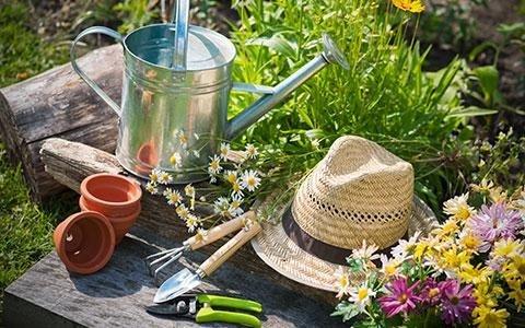 utensileria per giardinaggio e orto