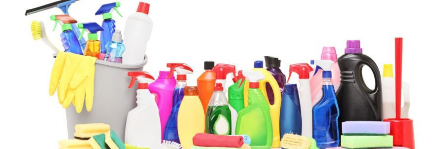 Cleaning products used by our cleaning contractors in Christchurch