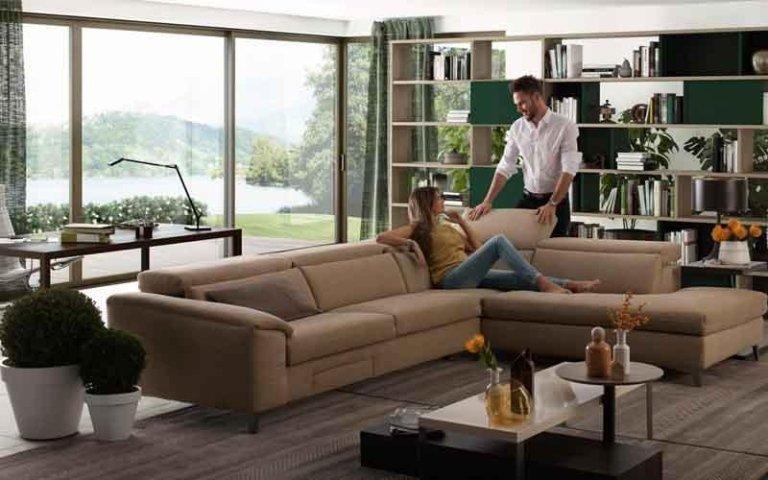 divani per zona giorno siena