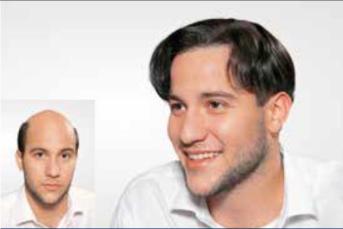 Parrucca uomo